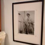 Naked Jack & Zack. 1987; B&W photograph, frame