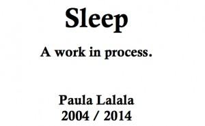 Sleep title